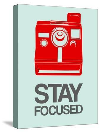 Stay Focused Polaroid Camera 4-NaxArt-Stretched Canvas Print