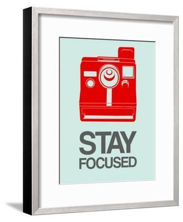 Stay Focused Polaroid Camera 4-NaxArt-Framed Art Print