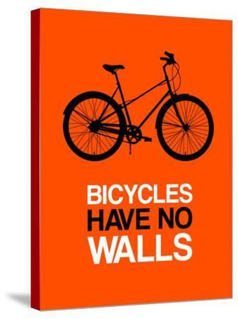 Bicycles Have No Walls 1-NaxArt-Stretched Canvas Print