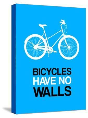 Bicycles Have No Walls 2-NaxArt-Stretched Canvas Print