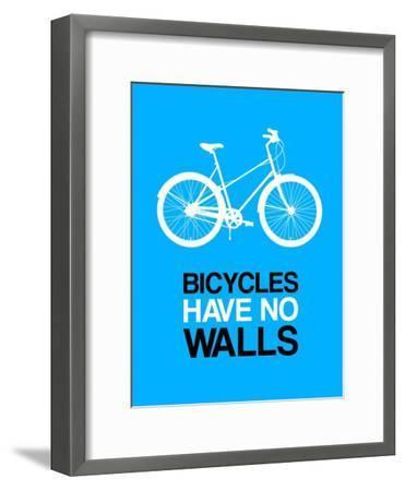 Bicycles Have No Walls 2-NaxArt-Framed Art Print