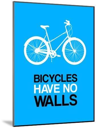 Bicycles Have No Walls 2-NaxArt-Mounted Art Print