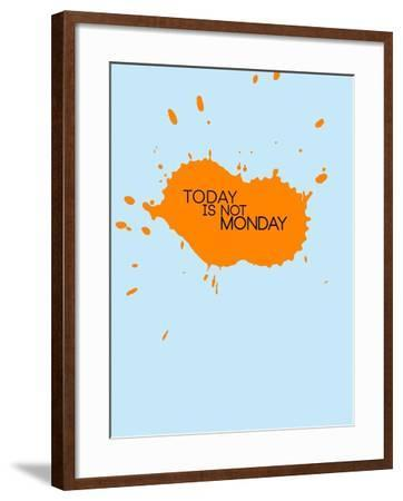 Today Is Not Monday 1-NaxArt-Framed Art Print