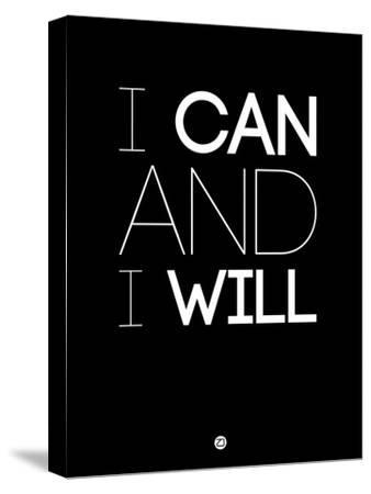 I Can and I Will 1-NaxArt-Stretched Canvas Print