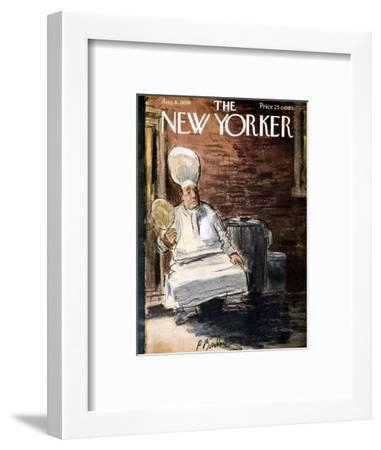 The New Yorker Cover - August 8, 1959-Perry Barlow-Framed Premium Giclee Print