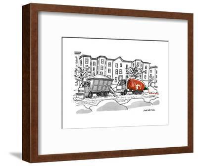 """Sriracha"" - New Yorker Cartoon-Joe Dator-Framed Premium Giclee Print"