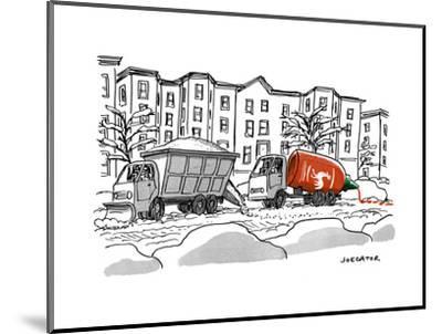 """""""Sriracha"""" - New Yorker Cartoon-Joe Dator-Mounted Premium Giclee Print"""