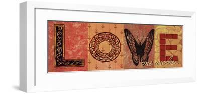 Love One Another-Jo Moulton-Framed Art Print