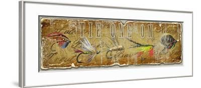 Tie I-Jim Baldwin-Framed Art Print