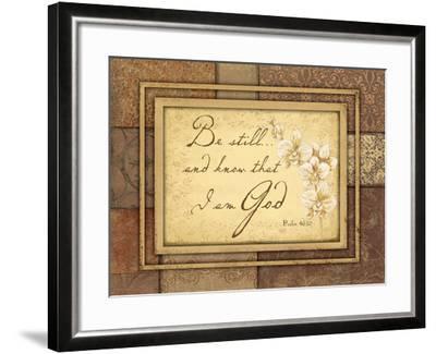 Be Still-Jo Moulton-Framed Art Print