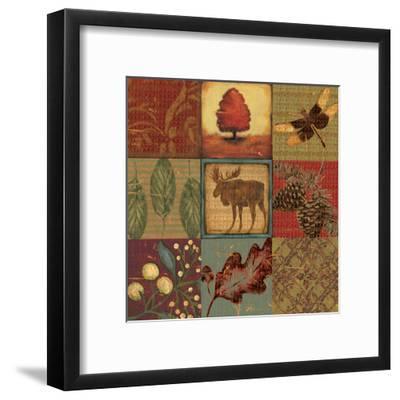 Teton Tapestry II-Jo Moulton-Framed Art Print