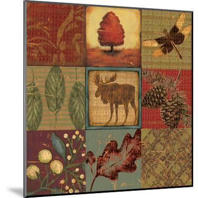 Teton Tapestry II-Jo Moulton-Mounted Art Print