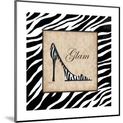 Glam-Kathy Middlebrook-Mounted Art Print