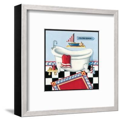 Nautical Bath I-Kathy Middlebrook-Framed Art Print