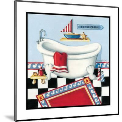 Nautical Bath I-Kathy Middlebrook-Mounted Art Print