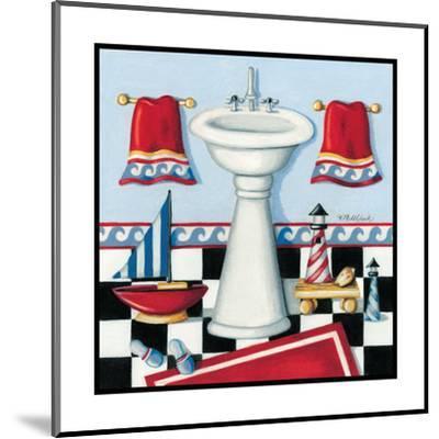 Nautical Bath II-Kathy Middlebrook-Mounted Art Print