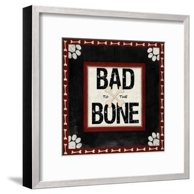 Bad to the Bone-Jennifer Pugh-Framed Art Print