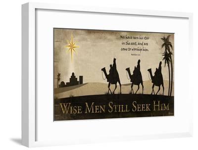 Wise Men Still Seek Him-Jennifer Pugh-Framed Art Print