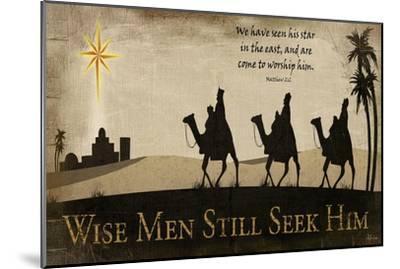 Wise Men Still Seek Him-Jennifer Pugh-Mounted Art Print