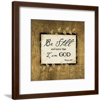 Be Still-Jennifer Pugh-Framed Art Print