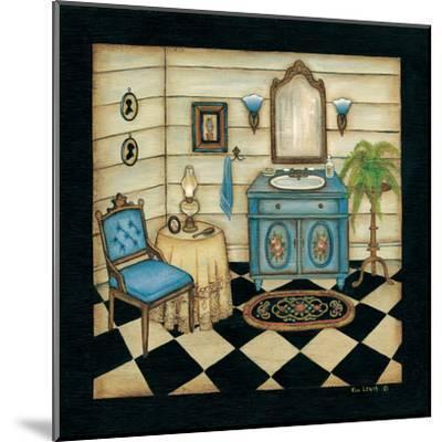 Blue Sink-Kim Lewis-Mounted Art Print