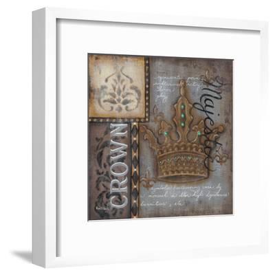 Crown-Kim Lewis-Framed Art Print