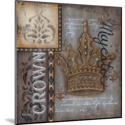 Crown-Kim Lewis-Mounted Art Print