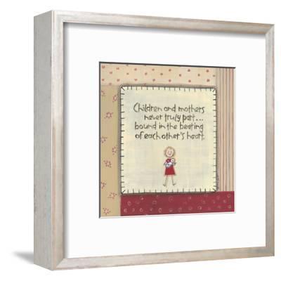 Children and Mothers-Karen Tribett-Framed Art Print
