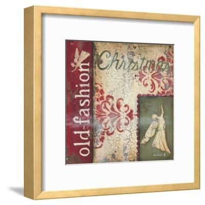 Old Fashioned Christmas-Kim Lewis-Framed Art Print