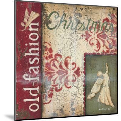 Old Fashioned Christmas-Kim Lewis-Mounted Art Print