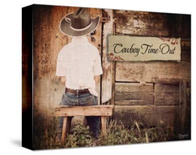 Cowboy Time Out-Shawnda Craig-Stretched Canvas Print