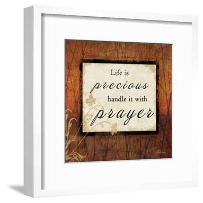 Life Is Precious-Jennifer Pugh-Framed Art Print
