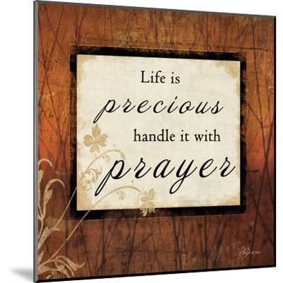 Life Is Precious-Jennifer Pugh-Mounted Art Print