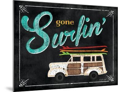 Gone Surfin-Jennifer Pugh-Mounted Art Print