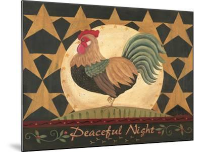 Peaceful Night-Jo Moulton-Mounted Art Print