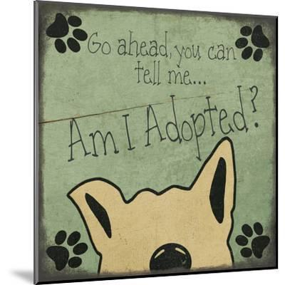 Am I Adopted-Jo Moulton-Mounted Art Print