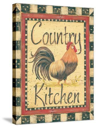 Country Kitchen-Jo Moulton-Stretched Canvas Print