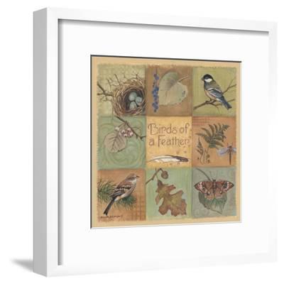 Birds of a Feather-Anita Phillips-Framed Art Print