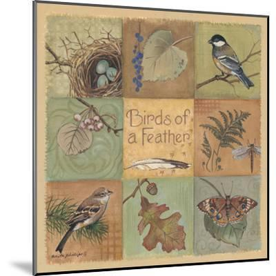 Birds of a Feather-Anita Phillips-Mounted Art Print
