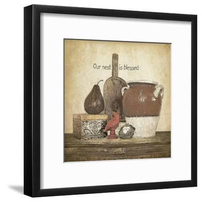 Blessed Nest-Jo Moulton-Framed Art Print
