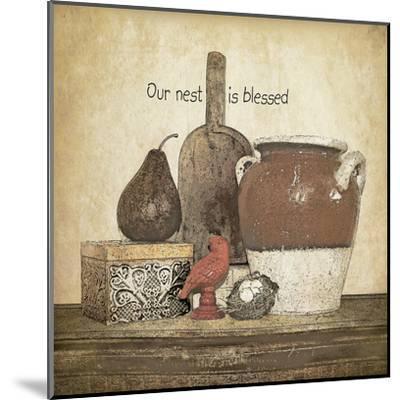 Blessed Nest-Jo Moulton-Mounted Art Print
