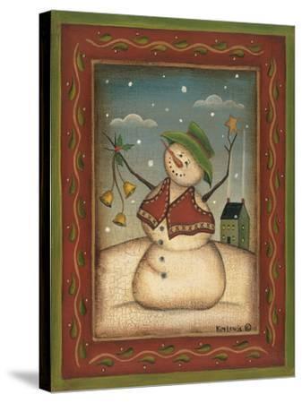 Jingle Bells-Kim Lewis-Stretched Canvas Print