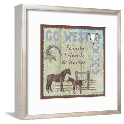 Go West-Anita Phillips-Framed Art Print