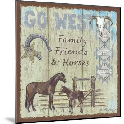Go West-Anita Phillips-Mounted Art Print