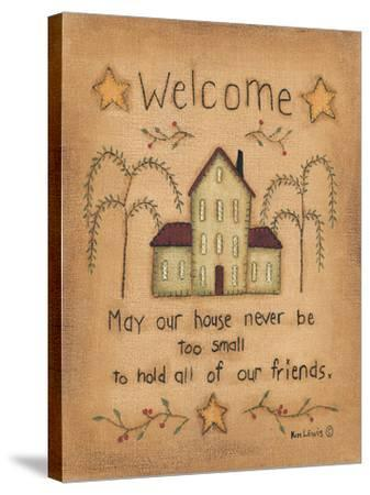 Welcome-Kim Lewis-Stretched Canvas Print