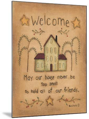 Welcome-Kim Lewis-Mounted Art Print