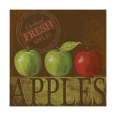 Fresh Apple-Kathy Middlebrook-Stretched Canvas Print