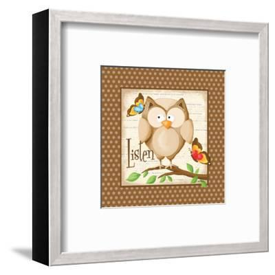Listen-Kathy Middlebrook-Framed Art Print