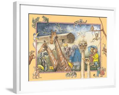 Noah's Ark-Anita Phillips-Framed Art Print