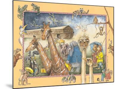 Noah's Ark-Anita Phillips-Mounted Art Print